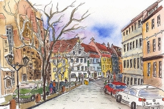 Pirna | Am Kirchplatz | At the church square