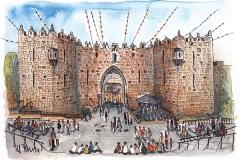 Jerusalem | Damaskustor | Damascus Gate