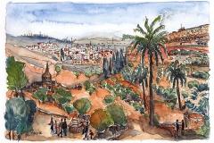 Jeruslaem | Kidrontal | Kidron Valley