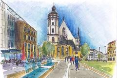 Leipzig | Thomaskirche | St. Thomas Church