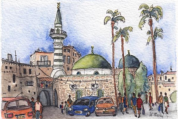 Akko - Al Seituna Moschee