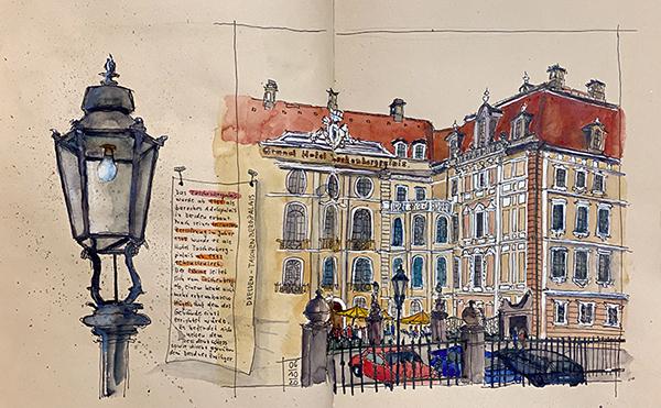 Dresden - Kempinski Grand Hotel Taschenbergpalais