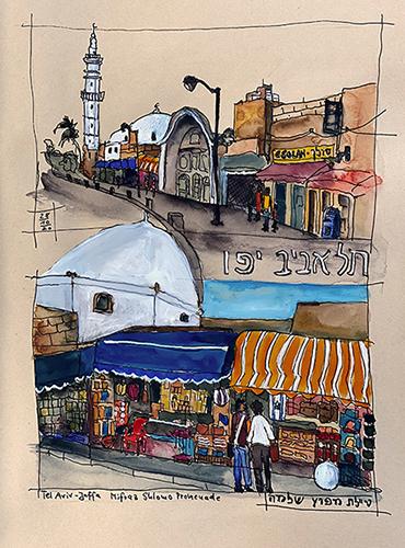 Tel Aviv-Jaffa Mifraz Shlomo Promenade