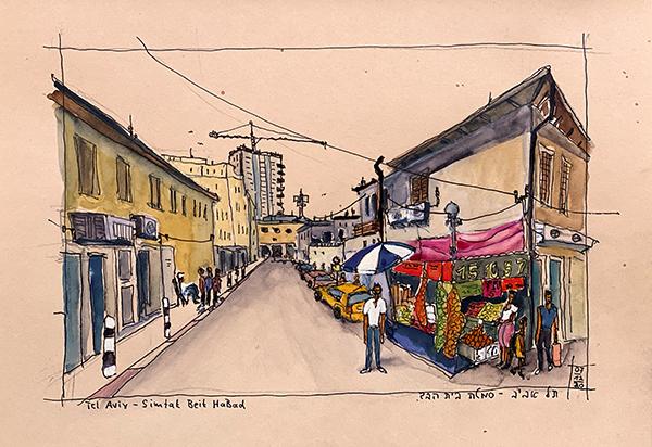 Tel Aviv - Simtat Beit HaBad